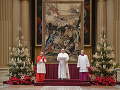 Pápež v novoročnom pozdrave zaželal svetu rok pokoja a nádeje