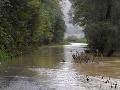 Meteorológovia varujú pred povodňami: Druhý stupeň výstrahy platí pre okres Prievidza