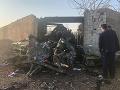 Irán súhlasil s odškodnením pozostalých obetí z ukrajinského lietadla