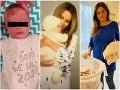 Babyboom v našom šoubiznise: 11. dieťa Borisa Kollára, 49-ročná prvorodička aj... Beňová mamou po 50-ke!