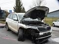 FOTO Polícia objasňuje nehodu v Lučenci: Zranili sa pri nej tri osoby