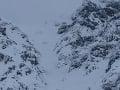 FOTO Horskí záchranári mali plné ruky práce: V Derešskom kotle pomáhali mladému skialpinistovi (21)