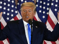 Trump stúpencom povedal, že nikdy neprizná volebnú porážku