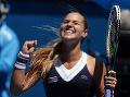 Dominika Cibulková sa suverénnym spôsobom prebojovala už do semifinále dvojhry na grandslamovom turnaji Australian Open v Melbourne.