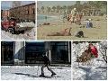 Počasie v Európe sa zbláznilo: FOTO Španielov trápi historická zima, Gréci sa opaľujú na plážach