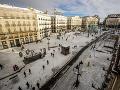 Madrid sužujú mrazy: Vládu žiada o vyhlásenie mimoriadnej situácie