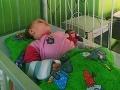 Česká mamička prežíva peklo: FOTO Jej dcéra (2) sa infikovala covidom a prejavil sa u nej zriedkavý syndróm