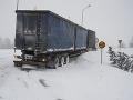 FOTO Švédsko a Fínsko zasiahlo husté sneženie: Tisíce domácností zostali bez elektriny
