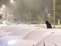 Sneženie v Maďarsku narobilo poradne problémy: Kolabovala cestná i železničná doprava