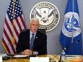 Pence prisľúbil, že zaistí bezpečné odovzdanie moci Bidenovi, Trump sa nezúčastní