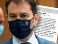 KORONAVÍRUS Polícia je v pozore: Premiérovi Matovičovi sa muž vyhrážal smrťou, začali trestné stíhanie