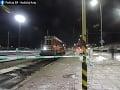 Tragédia na železničnej stanici v Košiciach: Muž neprežil zrážku s rušňom