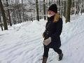 Zasneženú krajinu si užíva aj prezidentka: Romantická FOTO s Rizmanom!