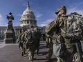 Národná garda z Washingtonu neodíde: Dôvodom predĺženia ich nasadenia sú pretrvávajúce hrozby
