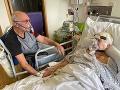 Dojímavý príbeh: Nemocnica umožnila manželom rozlúčku po nákaze koronavírusom