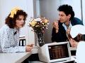 Geena Davis a Jeff Goldblum