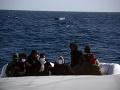 Na gréckom ostrove Lesbos zachránili 27 migrantov: Jeden v rozbúrených vodách zahynul
