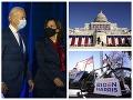 Prezident Joe Biden a viceprezidentka Kamala Harrisová zložia sľuby.
