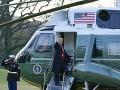 Odchod Donalda Trumpa z Bieleho domu