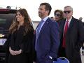 Donald Trump Jr. s priateľkou Kimberly Guilfoyle