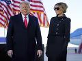 Donald a Melania Trumpovci