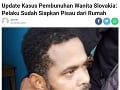 Podozrivého muža zadržala polícia v lokalite Sanur.