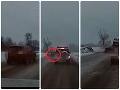 Mimoriadne mrazivé VIDEO: Polícia ukázala priebeh zrážky, vodič nezvládol predbiehanie
