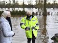 Britániu sužuje búrka Christoph