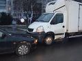 FOTO Vodič v Michalovciach spôsobil dve dopravné nehody: Nafúkal viac ako tri promile