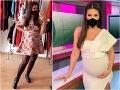 Jojkárka Skoncová skritizovaná za tehotenské kilá: Vraj má veľké nohy… Moderátorka vybuchla!