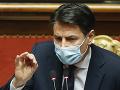 Taliansky premiér Conte podá v utorok demisiu do rúk prezidenta