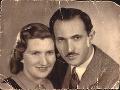 Angeliny rodičia Vera a Tibor