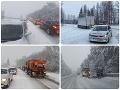 Východné Slovensko zasypal sneh: VIDEO Obrovská kalamita, popadané stromy aj tisíce domácností bez elektriny