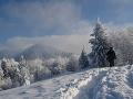 Dobrá správa pre milovníkov zimy: Na horách pribudlo do 25 centimetrov nového snehu