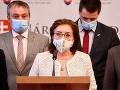 Klub SaS sa o kandidátoch na šéfa ÚŠP rozhodne až po ich vypočutí, hovorí Zemanová