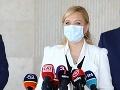 Saková upozorňuje na možné rušenie krajských policajných riaditeľstiev