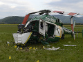 Vyšetrovanie pádu vrtuľníka rezortu vnútra ukončili: Návrh na obžalobu pilota (51)! Hrozí mu až 10 rokov