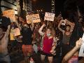 Izraelská polícia rozohnala vodnými delami ultraortodoxných demonštrantov