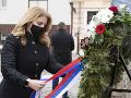 FOTO Prezidentka si uctila pamiatku obetí holokaustu