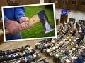 AKTUÁLNE Do parlamentu vtrhol muž so sekerou! Útok ukončil zásah bezpečnostnej služby