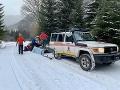 FOTO Horskí záchranári neverili vlastným očiam: Muž spadol z vrcholu Ďumbiera, akoby zázrakom prežil