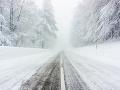 Západ Slovenska zasiahla kalamita: Pozor na silné sneženie a poľadovicu, upozorňuje SHMÚ