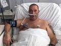 Záchranár Peter ušiel hrobárovi z lopaty: VIDEO Z nemocnice opísal hrozné príznaky covidu