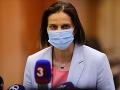 Kolíková podala návrh na dočasné pozastavenie výkonu funkcie sudkyne Evy Kyselovej