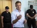 Počas protestov na podporu Navaľného zadržali vyše 1300 ľudí: Jeho právnici sa chcú odvolať na ESĽP