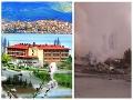 Grécka idyla sa zmenila na pohromu: VIDEO Explózia hotela, z budovy zostali iba dymiace trosky