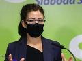 Lucia Ďuriš Nicholsonová zvažuje odchod zo strany SaS: Oznámila to aj členom