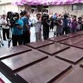 Vyrobili najväčšiu čokoládu na svete, váži 4,5 tony!