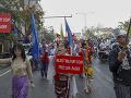Demonštranti v Mjanmarsku šiesty deň protestovali proti vojenskému prevratu