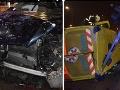 Desivé FOTO zrážky auta a sanitky v Žiline! Búralo sa aj pri Kysuciach: Policajti varujú pred kolónami